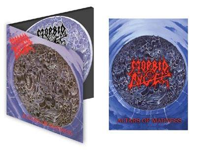MORBID ANGEL - Altars Of Madness Digipack CD