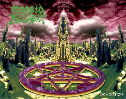 MORBID ANGEL - Domination Digipack CD