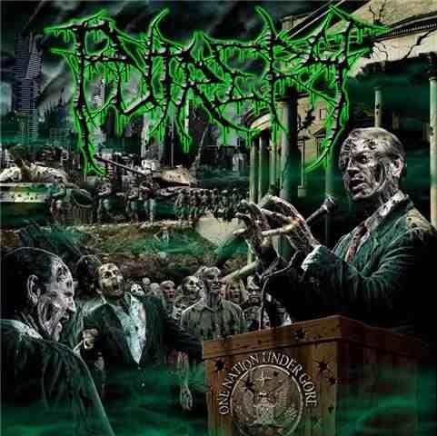 PUTREFY - One Nation Under Gore CD