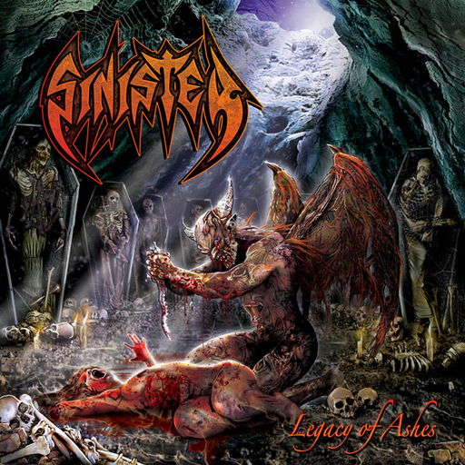 SINISTER - Legacy Of Ashes CD