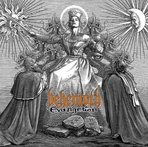 BEHEMOTH - Evangelion CD