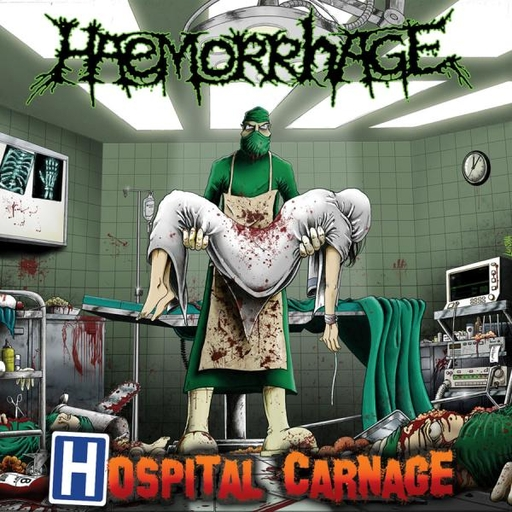 HAEMORRHAGE - Hospital Carnage CD
