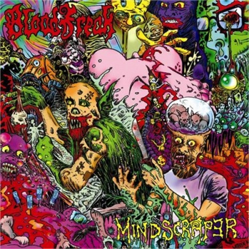 BLOOD FREAK - Mindscraper CD