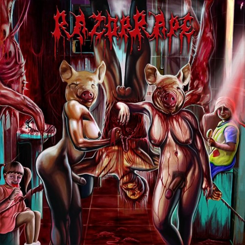 RAZORRAPE - Revenge Of The Hermaphrodite Whores CD