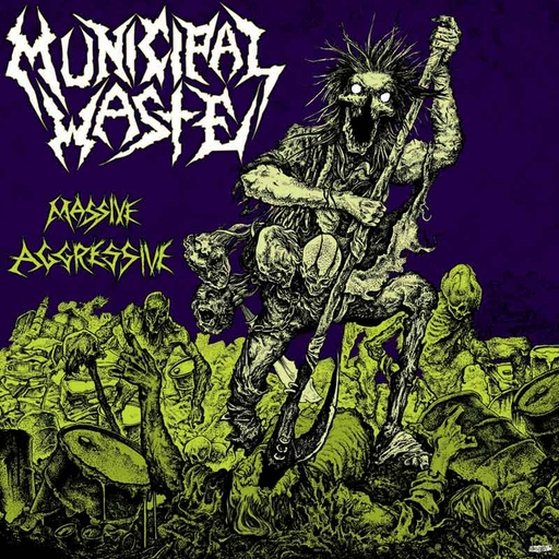 MUNICIPAL WASTE - Massive Aggressive CD