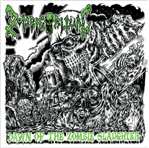 ZOMBIE RITUAL - Dawn Of The Zombie Slaughter CD
