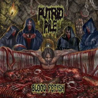PUTRID PILE - Blood Fetish CD
