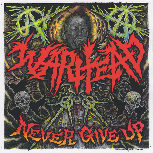 WARHEAD - Never Give Up - LP