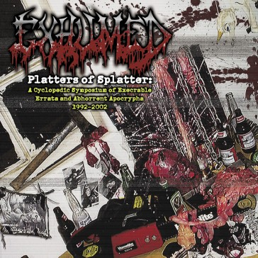 EXHUMED - Platters Of Splatter 4xLP