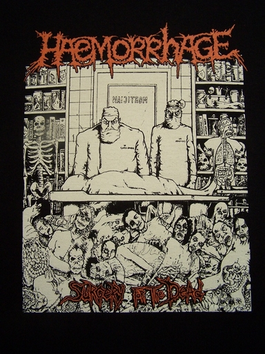 HAEMORRHAGE - Surgery For The Dead TS