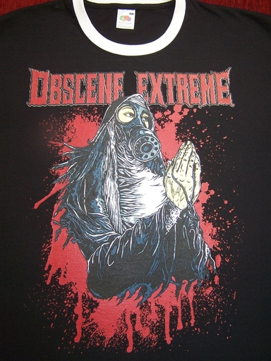 OBSCENE EXTREME 2012 - Nun / 14 Years - Ringer Black TS