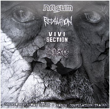 NASUM / RETALIATION / CSSO / VIVISECTION 4 way LP