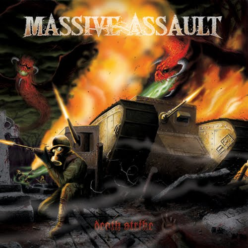 MASSIVE ASSAULT – Death Strike CD