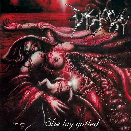 DISGORGE - She Lay Gutted CD