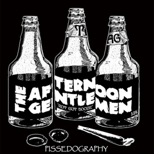 THE AFTERNOON GENTLEMEN - Pissedography LP