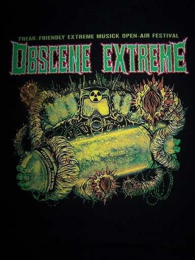 OBSCENE EXTREME 2012 - Toxic / Bands - Black TS