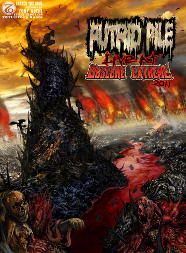 PUTRID PILE - Live At Obscene Extreme 2011 DVD
