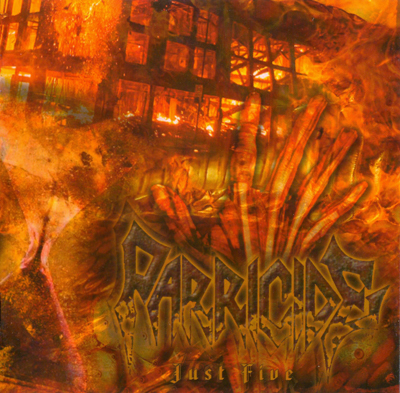 PARRICIDE - Just Five CD