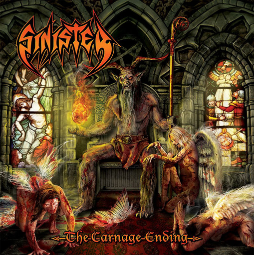 SINISTER - The Carnage Ending CD