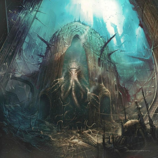 SULPHUR AEON - Swallowed by the Ocean's Tide CD