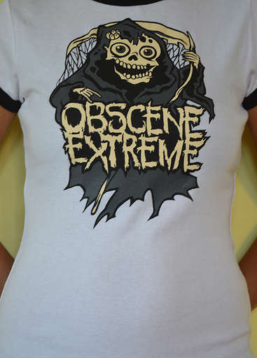 OBSCENE EXTREME 2013 - Happy Ms. Death - GIRLIE - Ringer White TS