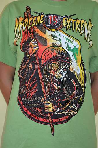 OBSCENE EXTREME 2013 - Soldier / Bands - Green TS