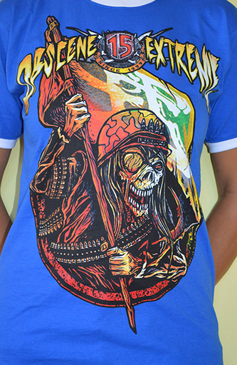 OBSCENE EXTREME 2013 - Soldier / Bands - Ringer Blue TS