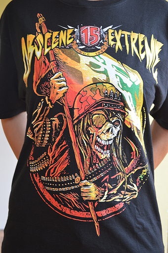 OBSCENE EXTREME 2013 - Soldier / Bands - Black TS