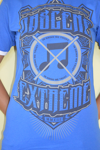 OBSCENE EXTREME 2013 - Note / Bands - Ringer Blue TS