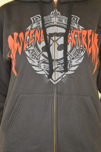 OBSCENE EXTREME 2013 - Note / Soldier - Black Hoodie ZIP