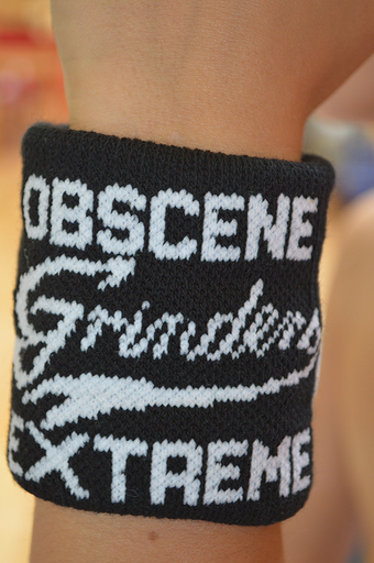 OBSCENE EXTREME 2013 - Grinders - Wristband