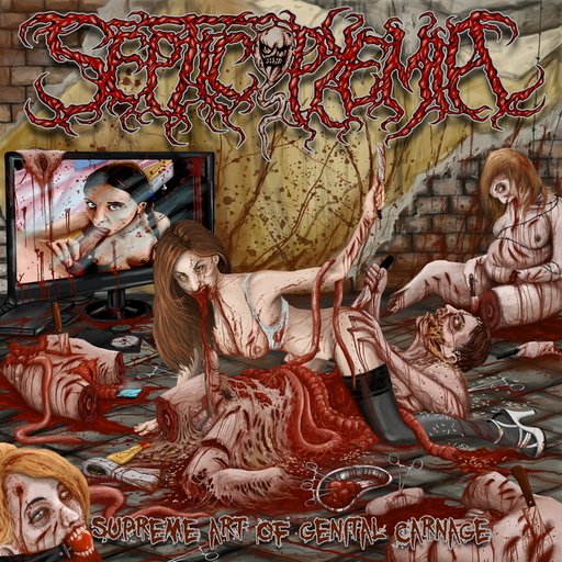SEPTICOPYEMIA - Supreme Art of Genital Carnage CD