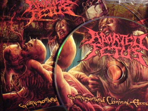 ABORTED FETUS - Goresoaked Clinical Accidents CD