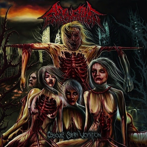 AFFLICTIVE EMASCULATION - Obscure Slam Vomition CD