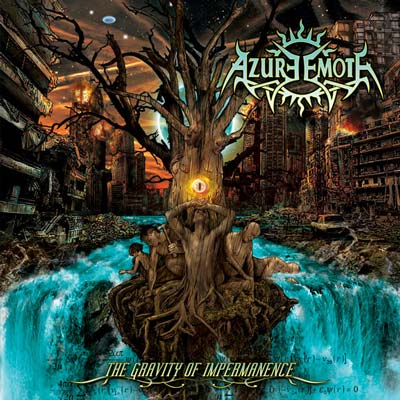 AZURE EMOTE - The Gravity Of Impermanence CD