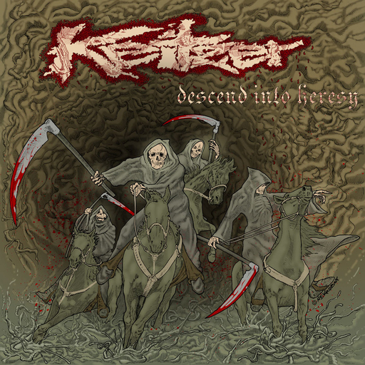 KEITZER - Descend Into Heresy CD