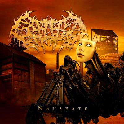 SPLATTERED ENTRAILS - Nauseate CD
