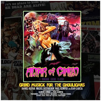 ALTAR OF GIALLO - Grind Musick For The Ghouligans CD