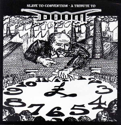 SLAVE TO CONVENTION - A TRIBUTE TO DOOM CD