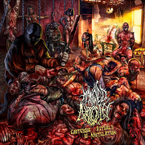 MANGLED ATROCITY - Grotesque Rituals Of Mutilation CD