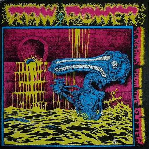 RAW POWER - Screams From The Gutter CD digipack