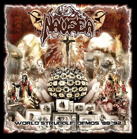 NAUSEA - World struggle: demos 1988-1992 LP gatefold