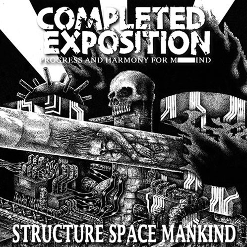 COMPLETED EXPOSITION - Structure Space Mankind - One sided 12 EP