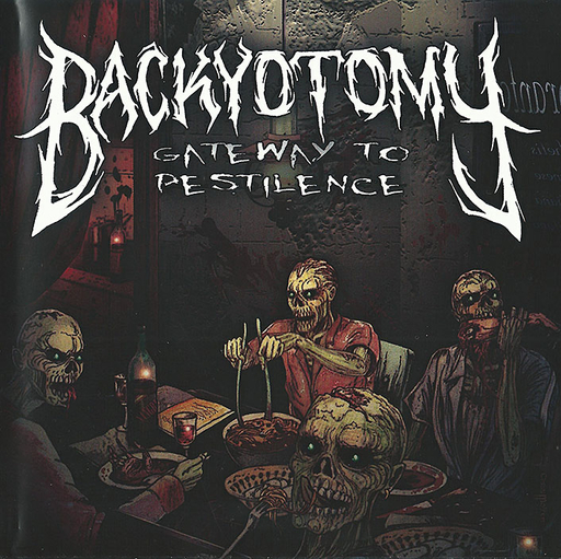 BACKYOTOMY - Gateway To Pestilence CD