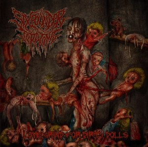 SIXPOUNDER TERATOMA - Love Grind For Dirty Dolls CD