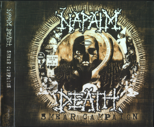 NAPALM DEATH - Smear Campaign CD digipack
