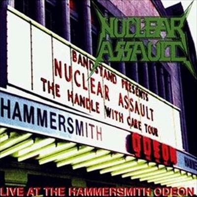 NUCLEAR ASSAULT - Live At Hammersmith Odeon CD