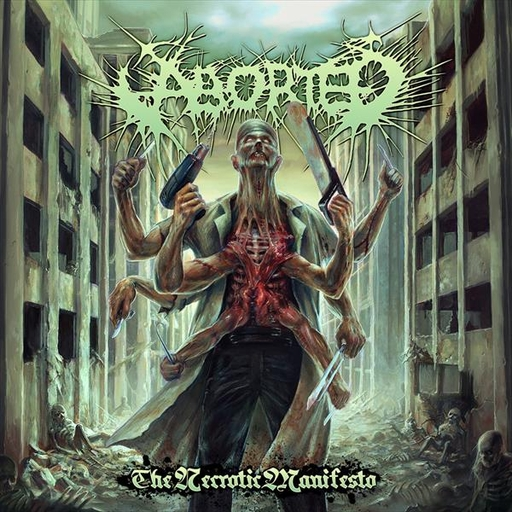 ABORTED - The Necrotic Manifesto CD