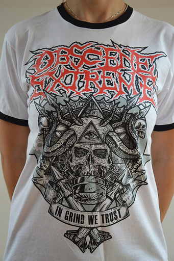 OBSCENE EXTREME 2014 - OEF/BRUTAL TRUTH Charity / Bands - Ringer TS