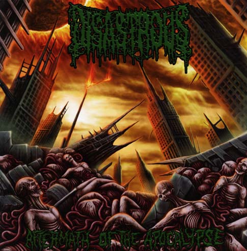 DISASTROUS - Aftermath Of Apocalypse CD